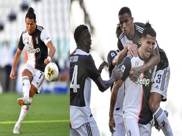 Ronaldo lập siêu phẩm đá phạt sau gần 3 năm