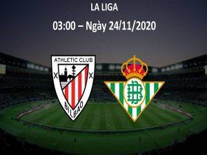 Dự đoán bóng đá Bilbao vs Betis, 03h00 ngày 24/11