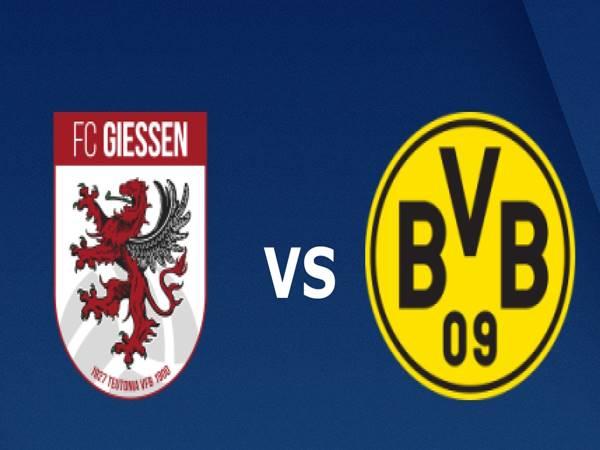 Dự đoán Giessen vs Dortmund, 23h30 ngày 13/7, giao hữu CLB