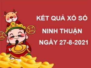Dự đoán KQSX Ninh Thuận thứ 6 ngày 27/8/2021