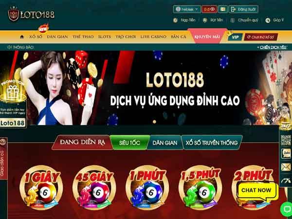 Loto188 – Nhà cái chơi lô đề online số 1 VN