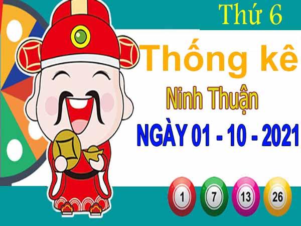 Thống kê XSNT ngày 1/10/2021 đài Ninh Thuận thứ 6 hôm nay chính xác nhất
